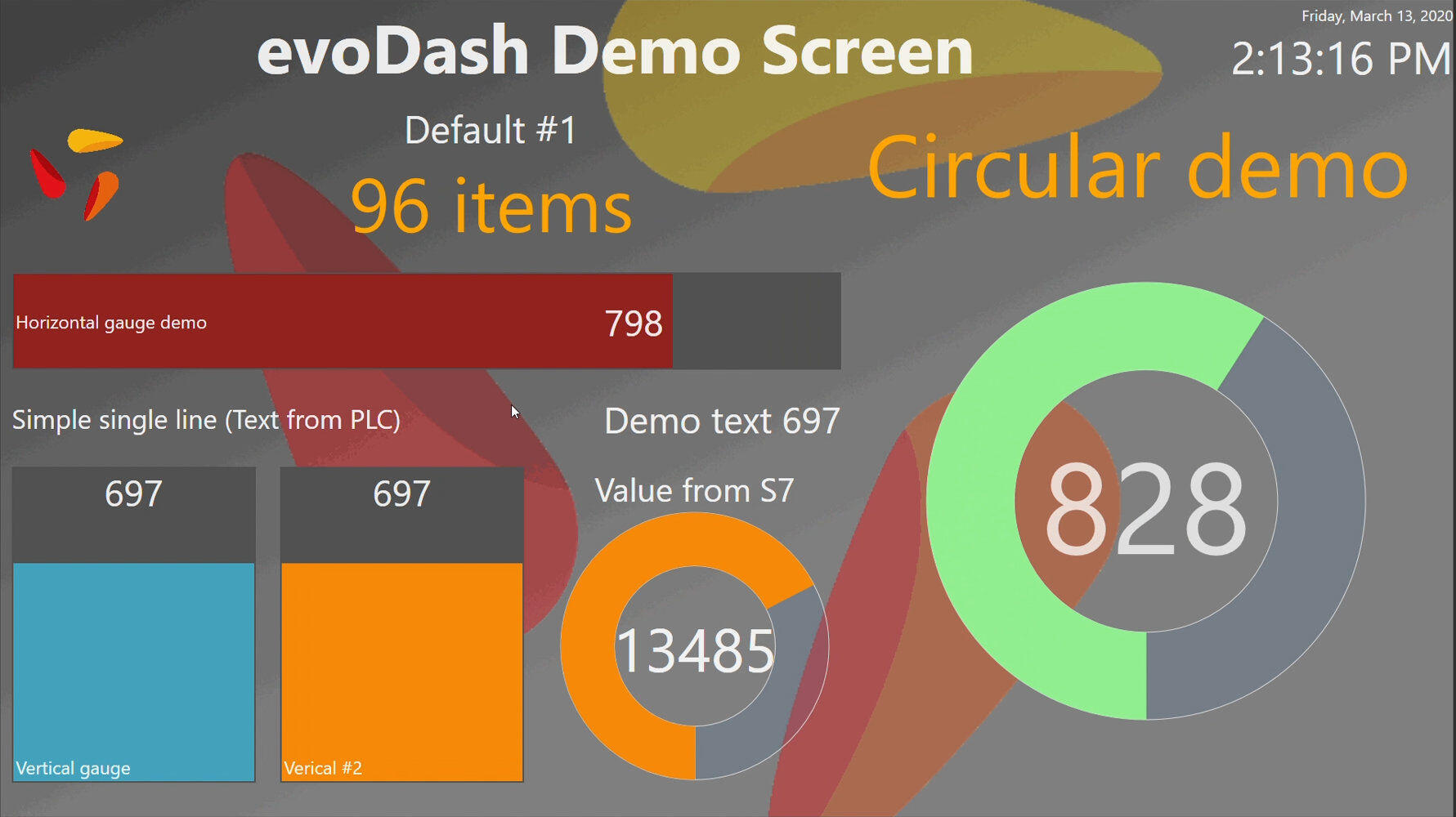 evoDash-Dashboard-evopro systems engineering AG