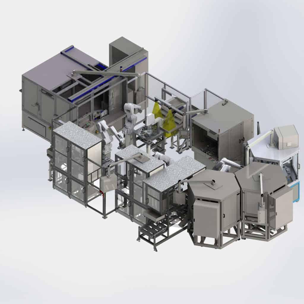 Automatisierung Ventilproduktion