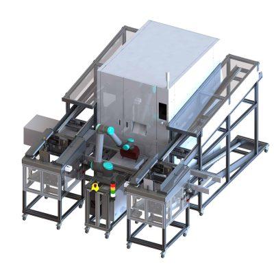 Automatisierung für Montage Wechselrichter