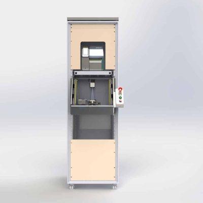 Maglatch test system