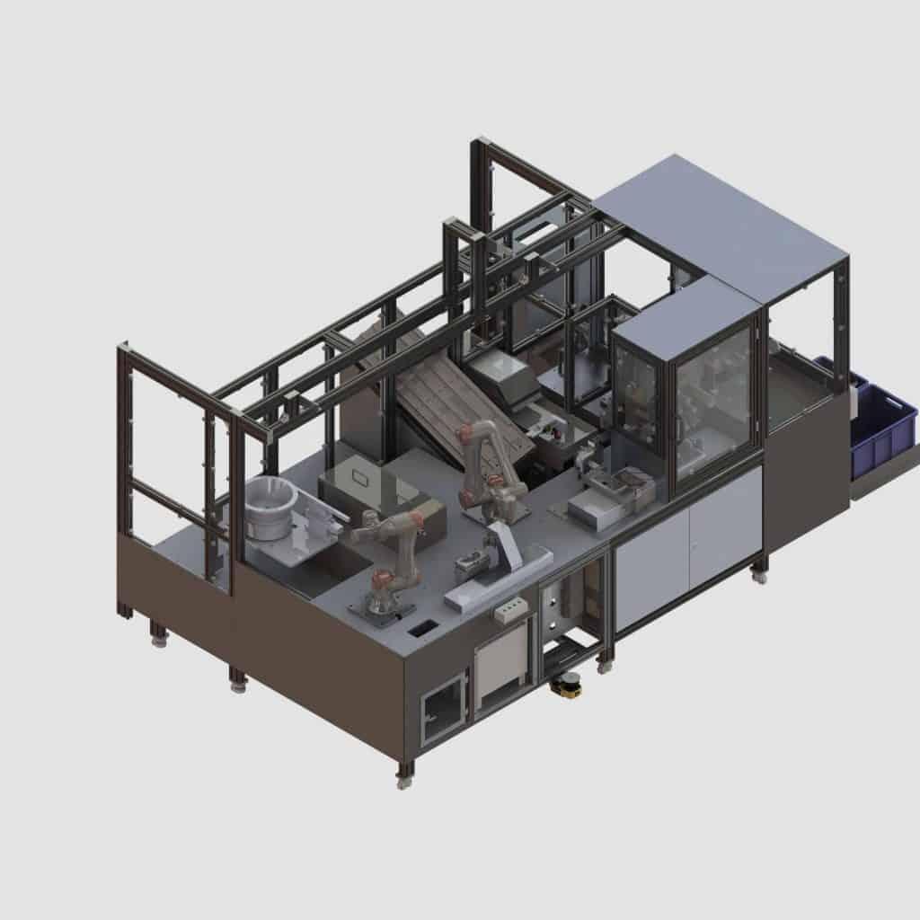 Montagelinie-für-medizinische-Probenträger