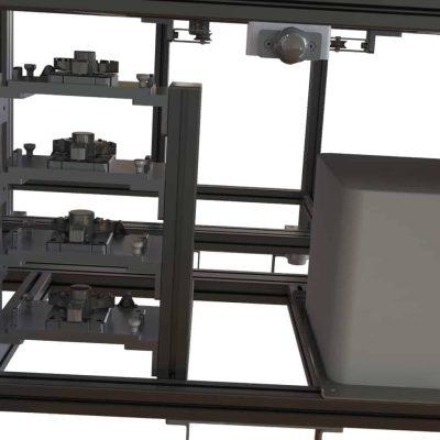 Montagestation Schaltmuffen