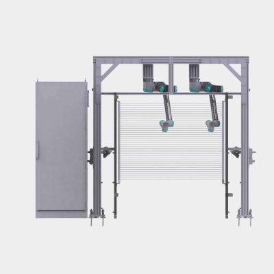 Prüfsystem Kabelverlegung Fertigmotormontage