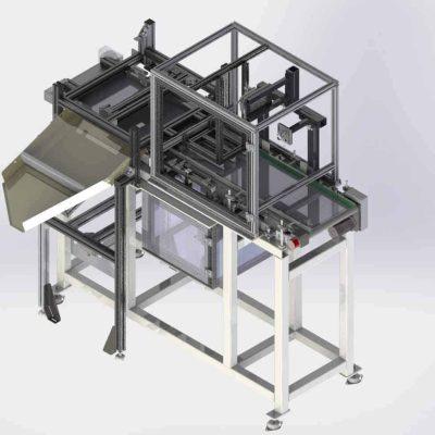 Prüfsystem für Aluminiumronden