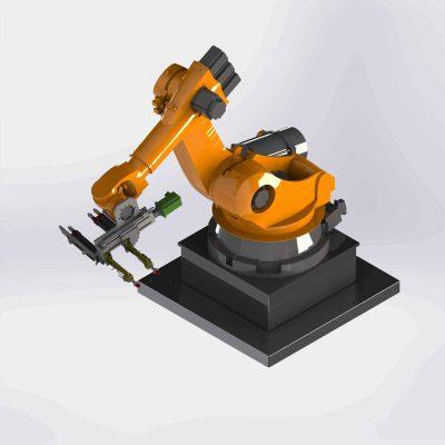 Integration of industrial robots
