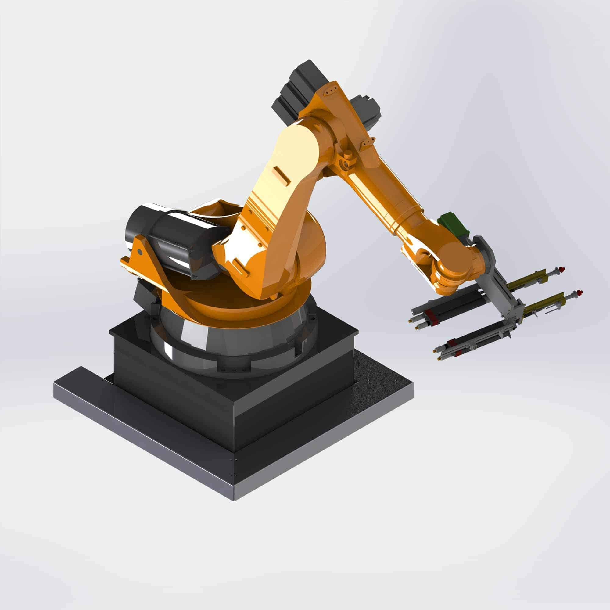 Integration Industrieroboter
