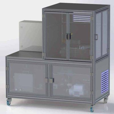 Dishwasher test system
