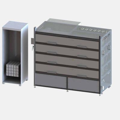 Laser test system 100 watts