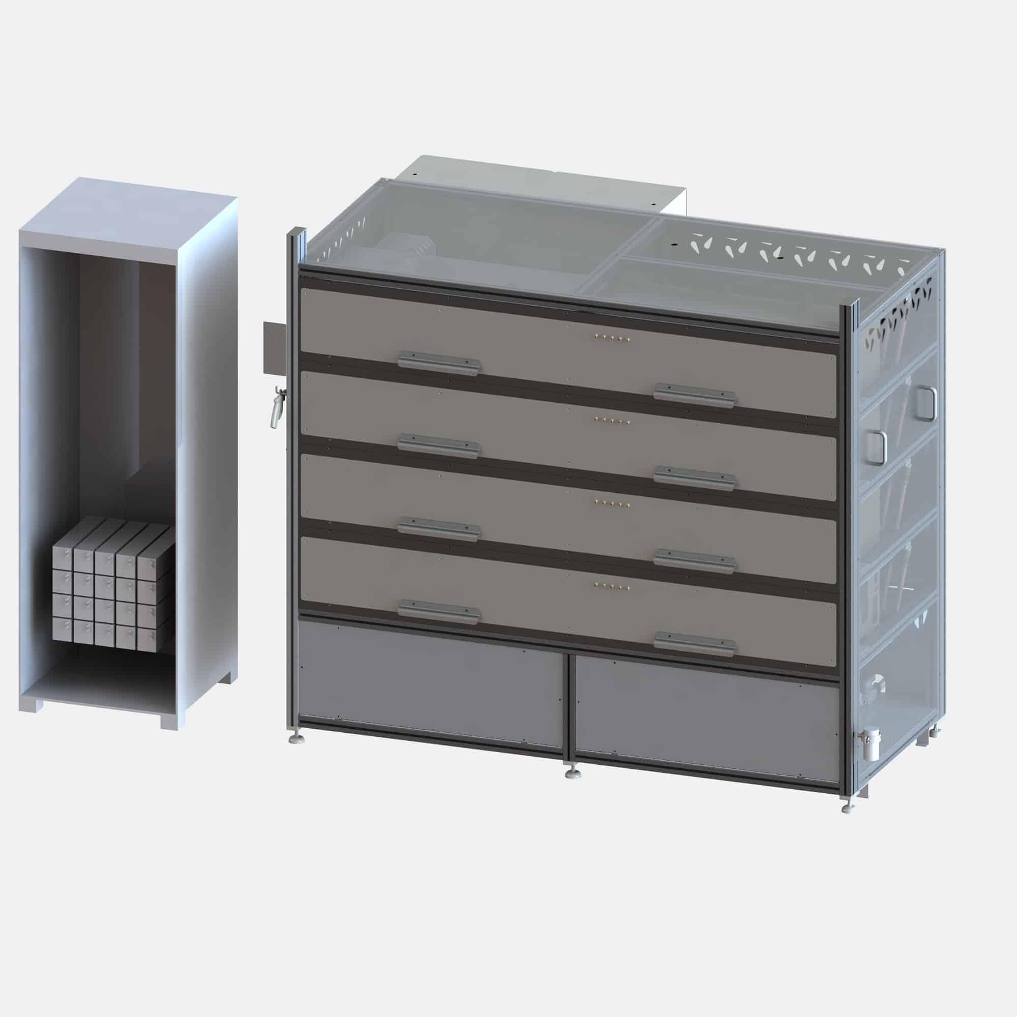 Lasertestsystem 100