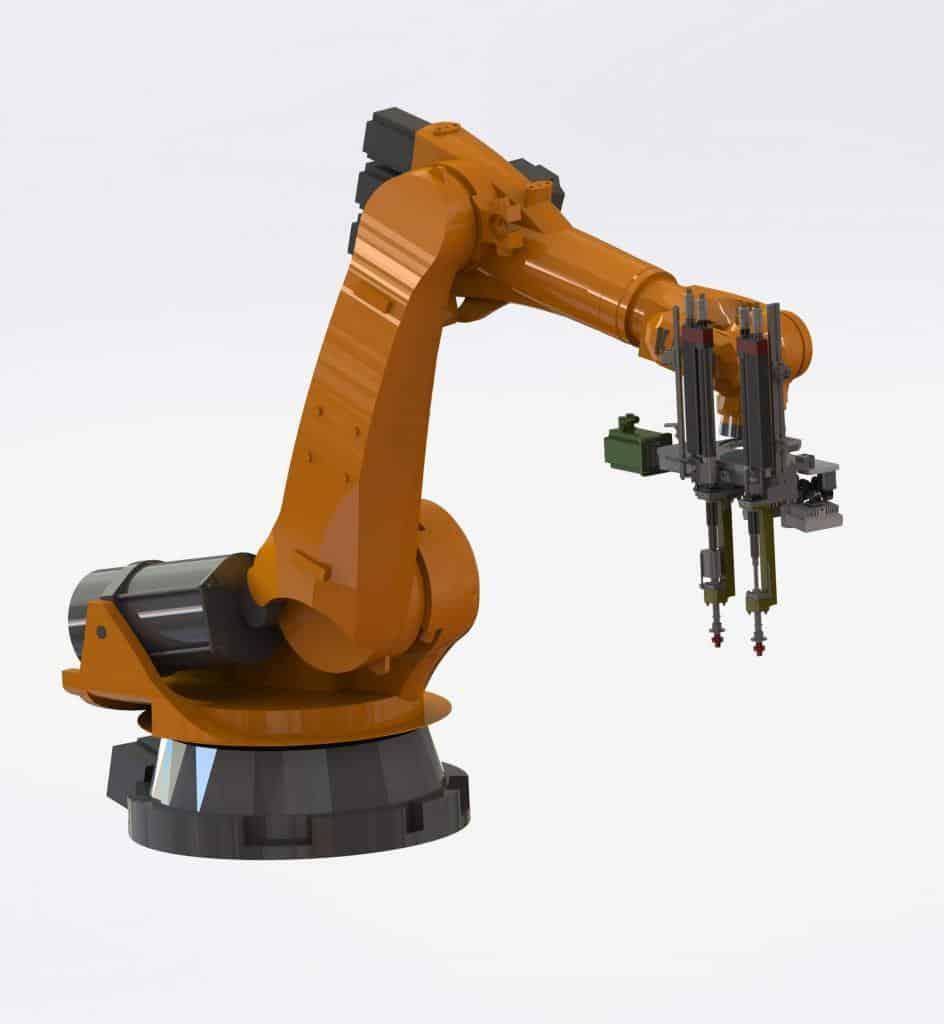 Offsetanpassung-Roboter